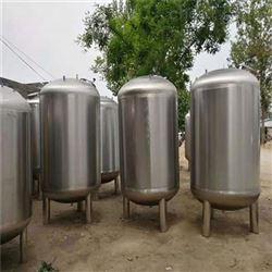 二手立式不锈钢储罐容积8立方316材质