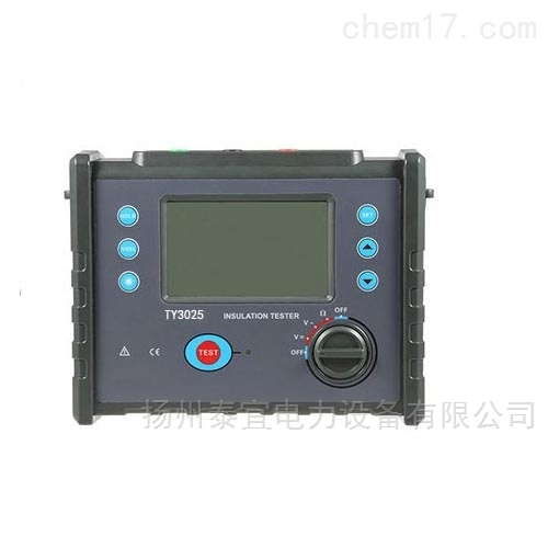 10KV智能绝缘电阻测试仪