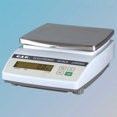 双杰JJ2000A电子天平2kg/0.1g天秤
