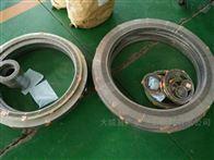 DN40精密金属缠绕垫定做耐高压金属密封垫