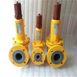 WA42F永嘉厂家衬氟弹簧式安全阀