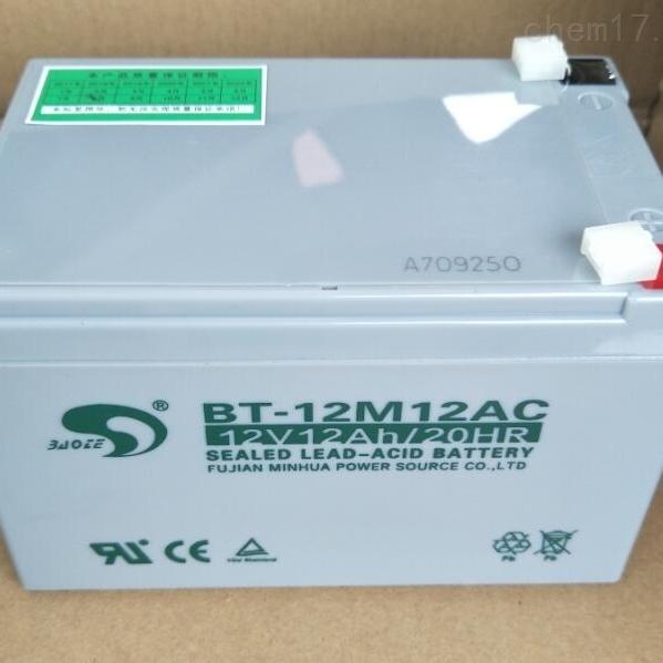 赛特蓄电池BT-12M12AC代理商