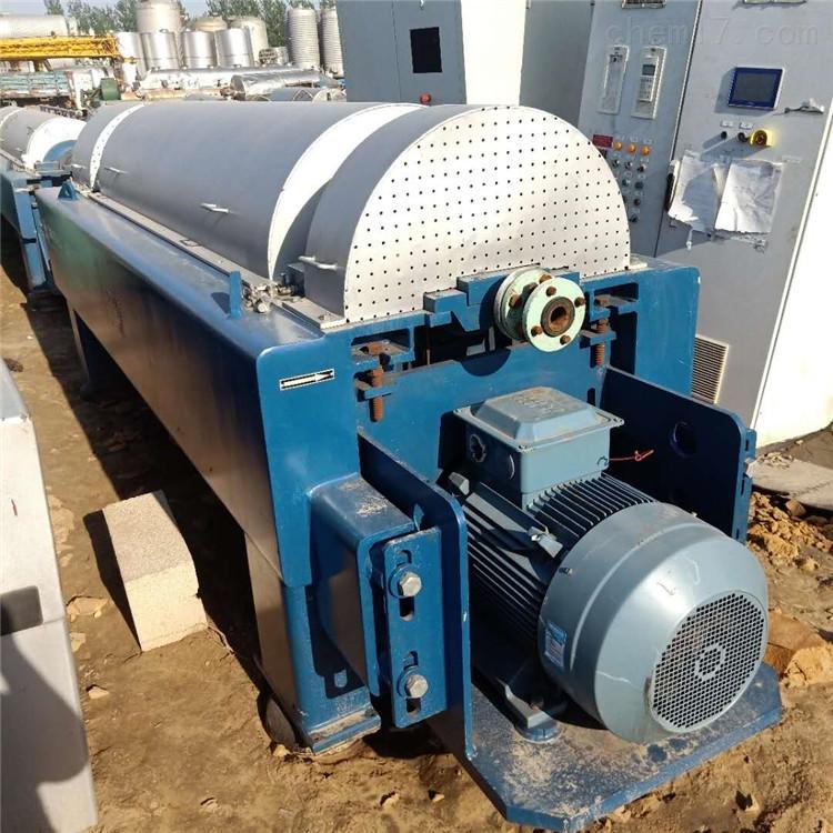 安装调试 二手650型卧式螺旋卸料沉降离心机