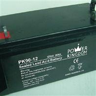 12V90AH三力蓄电池PK90-12全国包邮