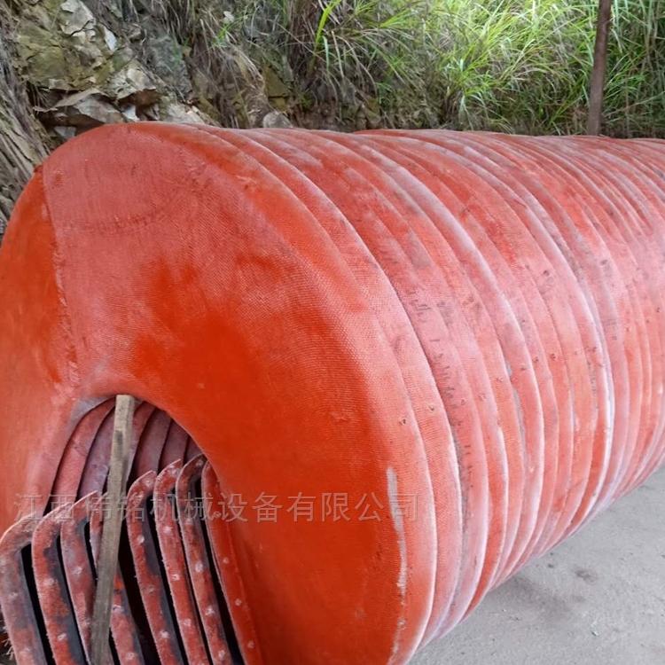 煤矿分选螺旋溜槽 水冲式1200溜槽选矿