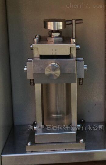 碳酸盐测定夹持器