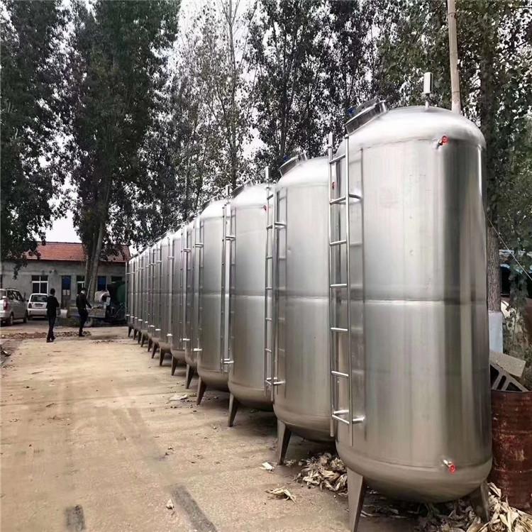 本公司常年供应二手不锈钢酒精储罐耐腐蚀