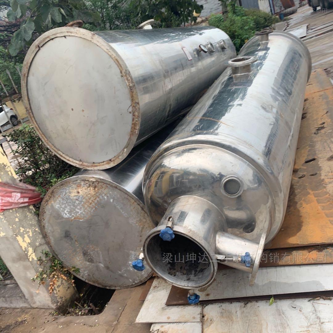长期高价回收二手单效浓缩器 多效蒸发器