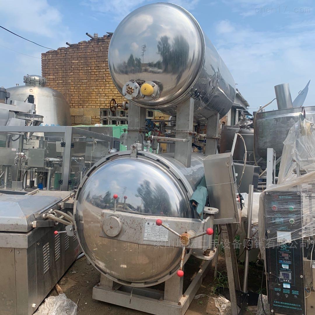 调剂二手食品长期储存设备自动杀菌锅