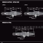 代理日本NSK中西高速主轴HES510-IT40现货