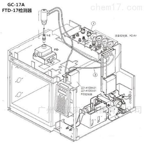岛津GC-17A气相色谱仪FTD-17检测器相关配件