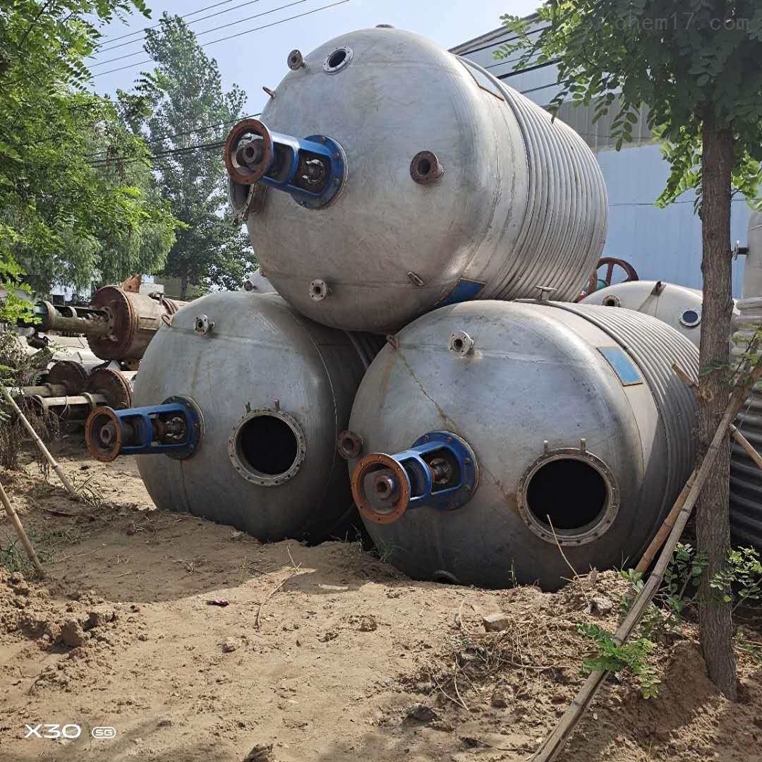 本厂常年供应 回收二手化工设备二手反应釜