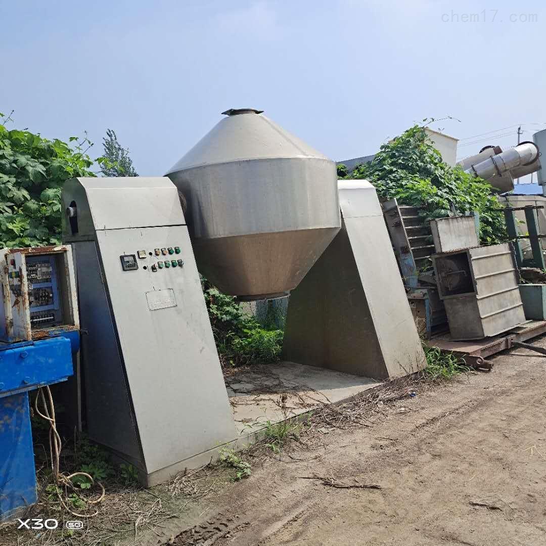 常年供应 回收二手真空双锥干燥机