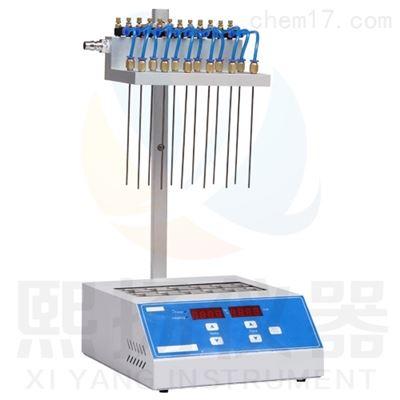 YND200可视氮气吹干仪12通道独立控制