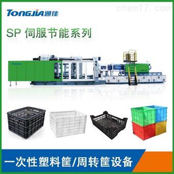 TH520/SP黑色一次性塑料筐生产机器
