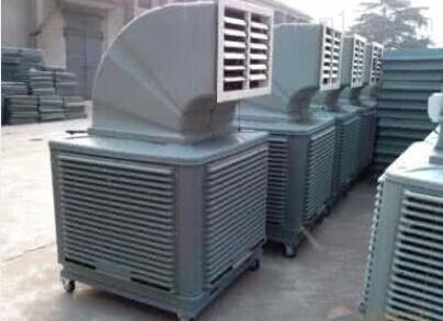 水空调冷风机安装