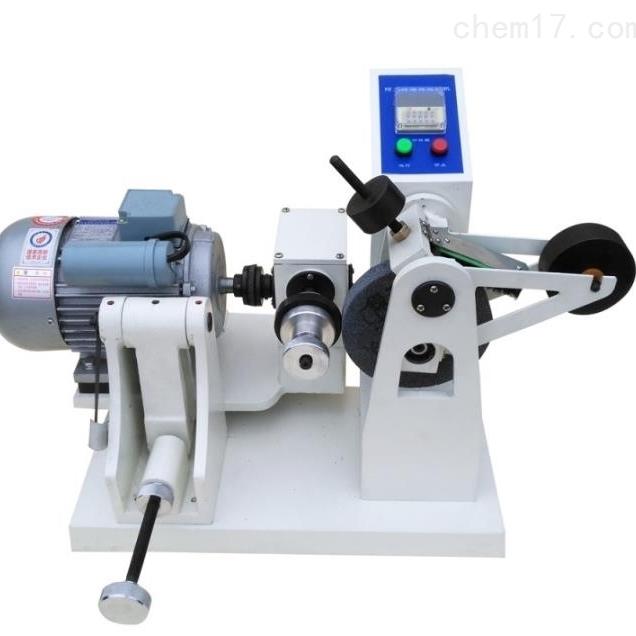 橡胶磨耗试验机原理
