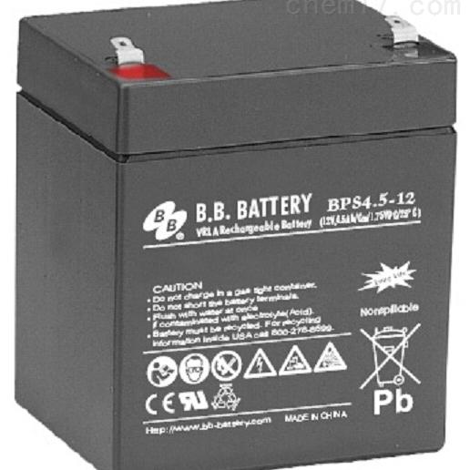 台湾BB蓄电池BPS4.5-12正品
