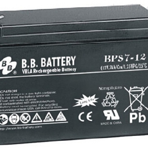 台湾BB储能蓄电池BPS7-12