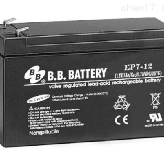台湾BB蓄电池EP7-12正品