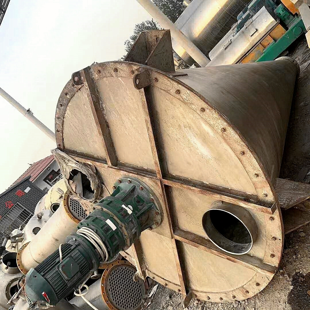 供应5立方全不锈钢单螺旋锥形混合机