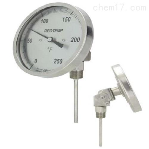 REOTEMP品牌双金属温度计带套管ST-9-316