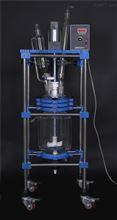 SF-5D5L双层玻璃反应釜/化工合成、分离设备