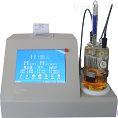 卡尔费气体微量水分分析仪