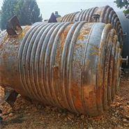 回收二手不銹鋼外盤管反應釜