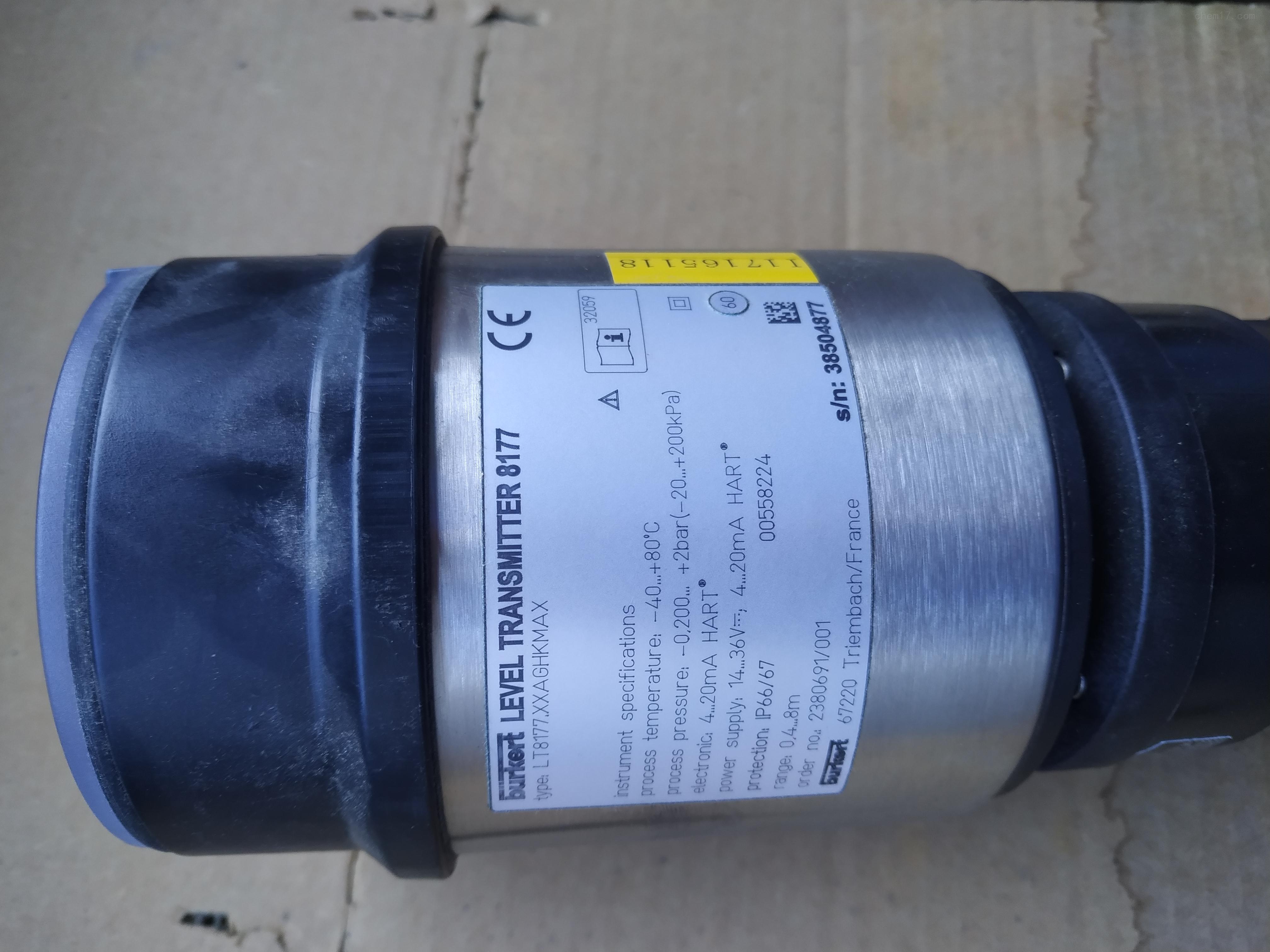 宝德液位测量仪Burkert 8177型超声波液位计