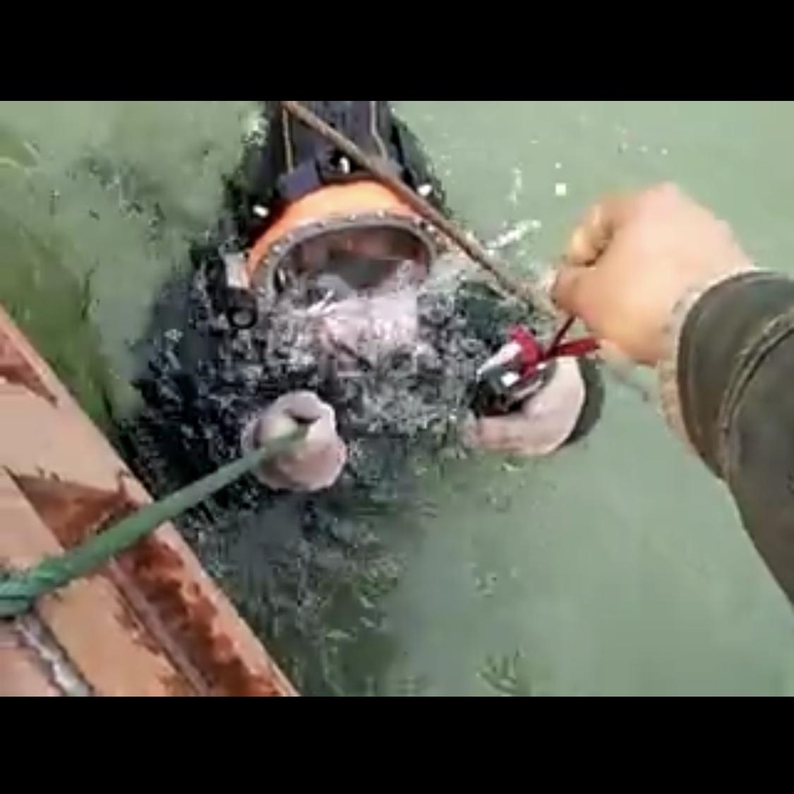 东莞水下管道封堵施工单位-实力派水下打捞