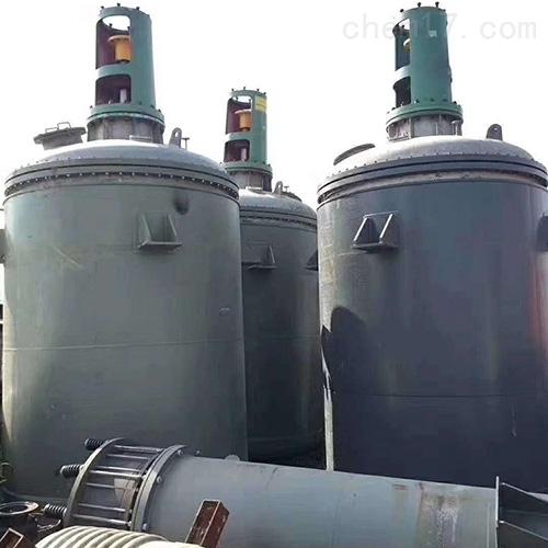 二手12吨高压反应釜供应多台