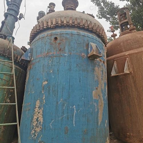 搪瓷3吨二手反应釜厂家供应