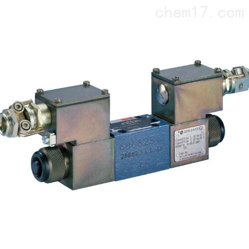 带电磁操作的REXROTH方向滑阀作用