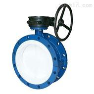 D341F4蜗杆传动衬氟蝶阀专业生产