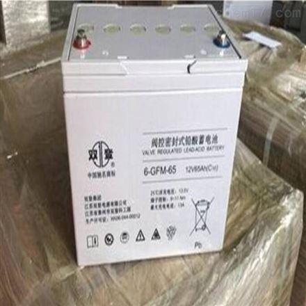 双登铅酸免维护蓄电池12V26AH