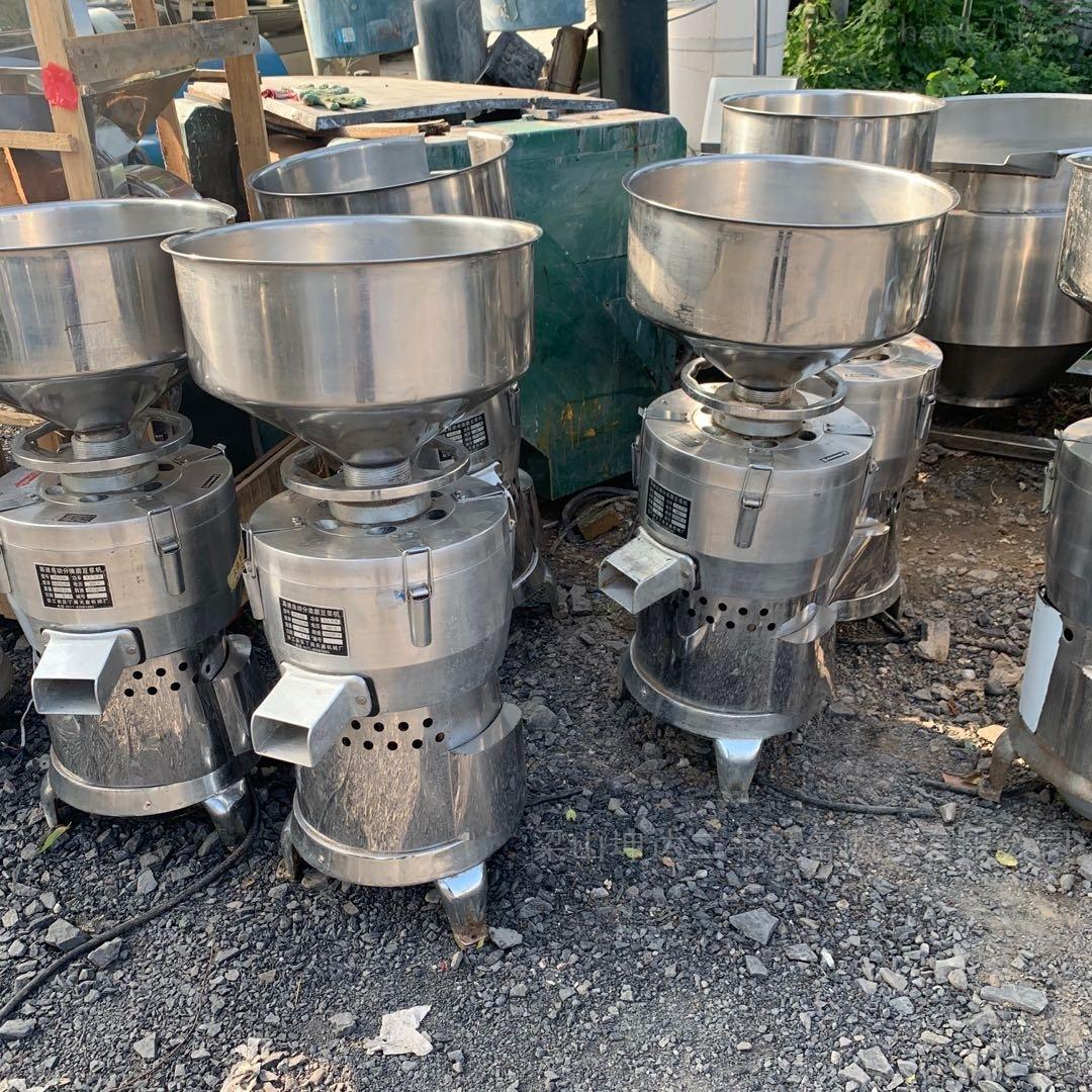高价回收二手高速自动渣磨豆浆机
