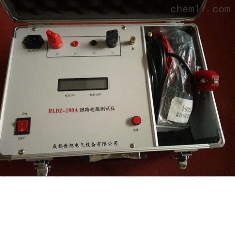 四川成都电力承装修试100A回路电阻测试仪
