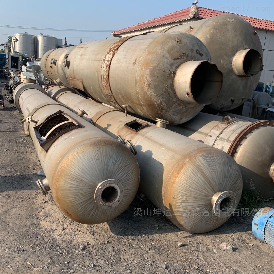 高价回收二手钛合金蒸发器 耐腐蚀