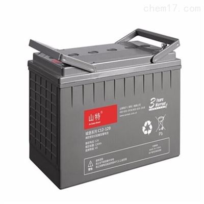C12-120AH山特 专用阀控式铅酸蓄电池城堡系列