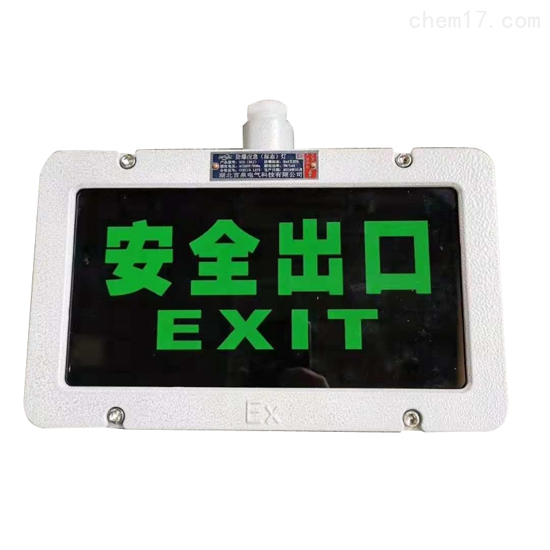 GCD805-BY单面双面安全灯防爆标志灯