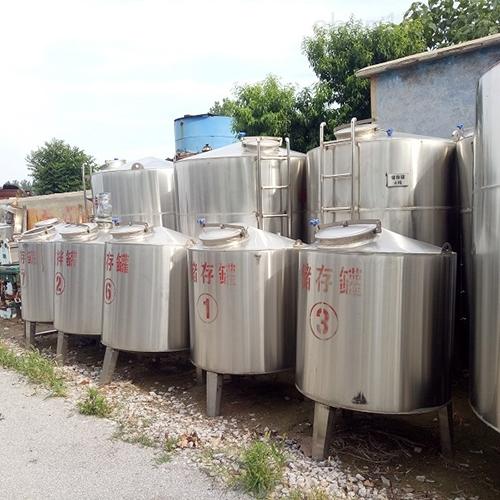 <strong>二手60立方不锈钢储水罐回收常年购销</strong>