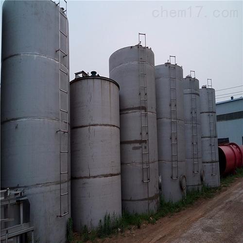 二手30吨不锈钢储罐厂家回收常年购销