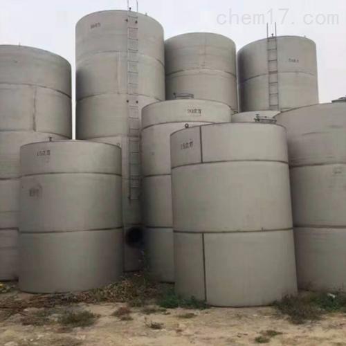 出售50方二手不锈钢储罐回收常年购销