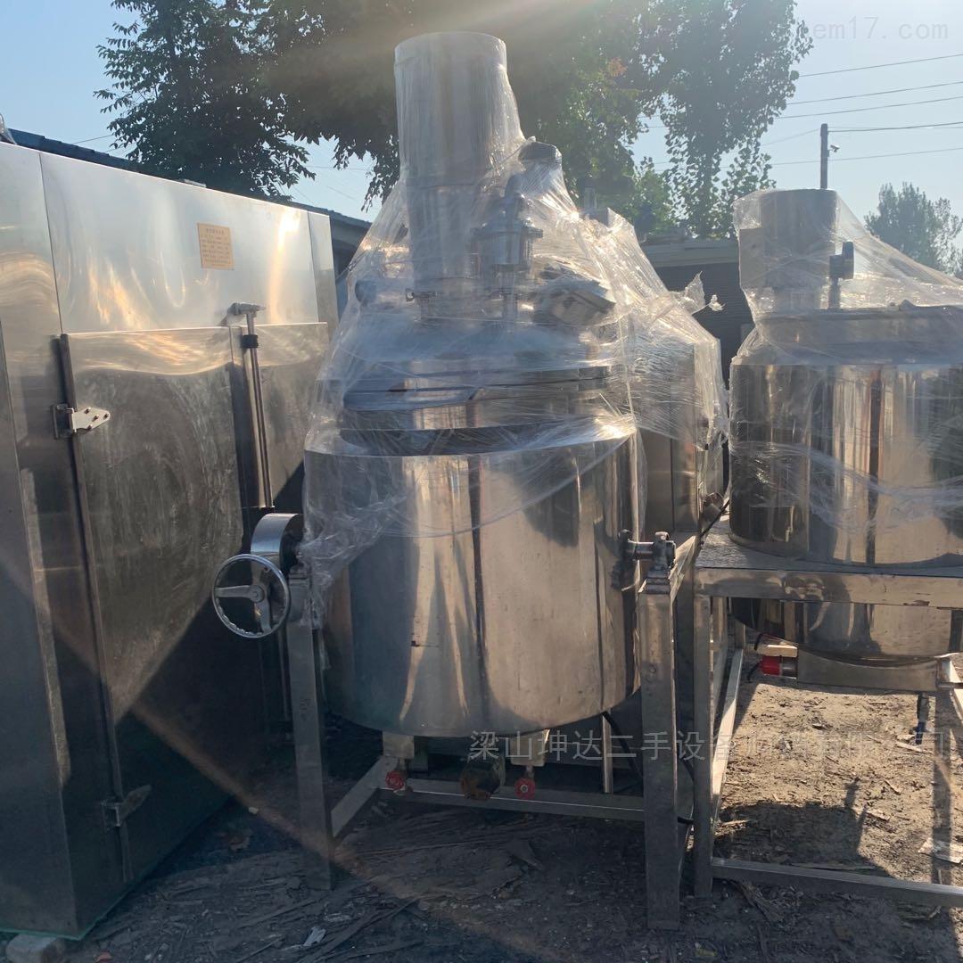 高价回收二手均质乳化机