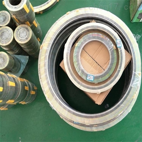 316材质柔性金属石墨缠绕垫片定制