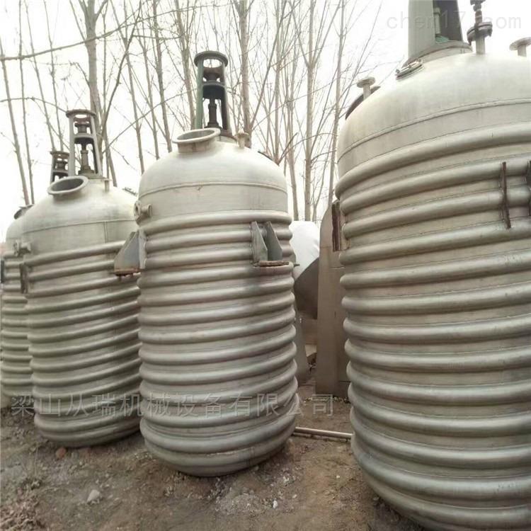 二手8吨不锈钢反应釜处理