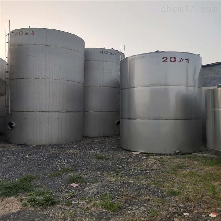 二手30吨不锈钢储罐