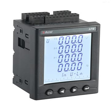 APM830三相故障錄波網絡電力儀分析表