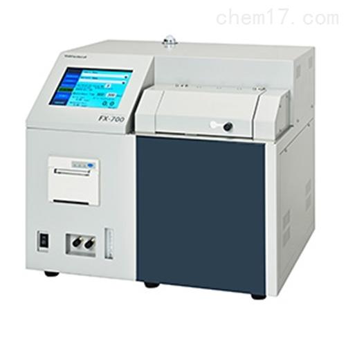 日本田中科学波长色散荧光X射线硫分析仪